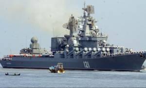 «Σφυροκόπημα» του ρωσικού πολεμικού ναυτικού κατά των τζιχαντιστών