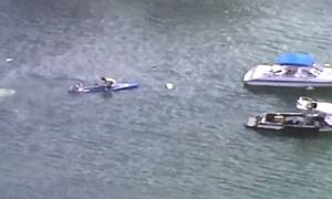 ΗΠΑ: Συντριβή αεροπλάνου σε λίμνη του Ορλάντο (photos)