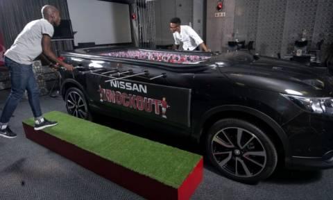 Nissan: Ένα διαφορετικό ποδοσφαιράκι