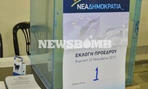 ΝΔ: Προβλήματα και καθυστερήσεις στη διαδικασία της ψηφοφορίας (pics)