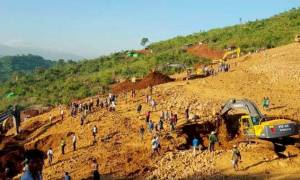 Μιανμάρ: Τουλάχιστον 90 νεκροί από κατολίσθηση σε ορυχείο