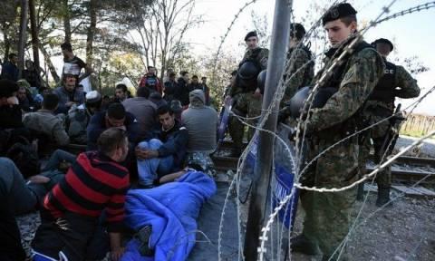 Μείωση του αριθμού όσων δεν θα γίνουν δεκτοί στα Σκόπια παρατηρείται στην Ειδομένη
