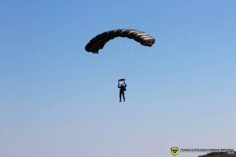 Εκπαίδευση Κυπρίων Καταδρομών σε ρίψεις από C-130 της ΠΑ (pics)