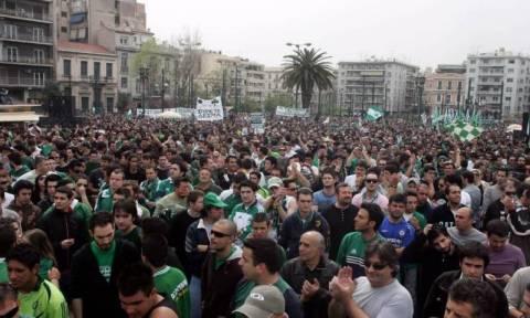 Σε ειρηνικό συλλαλητήριο την Τετάρτη (22/11) καλεί η ΠΑΕ Παναθηναϊκός