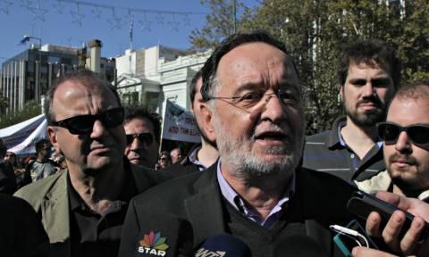 Λαφαζάνης: Σε τροχιά κατάρρευσης η κυβέρνηση, υπό διάλυση η ΝΔ