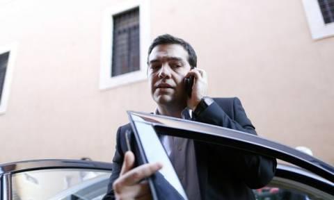 Τηλεφωνική επικοινωνία Τσίπρα με Μέρκελ - Φάιμαν
