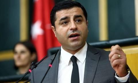 Τουρκία: Δολοφονική επίθεση εναντίον του ηγέτη του φιλοκουρδικού κόμματος Σελαχατίν Ντεμιρτάς