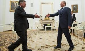 Η Συρία στο επίκεντρο της συνάντησης του Πούτιν με τον βασιλιά της Ιορδανίας Αμπντάλα