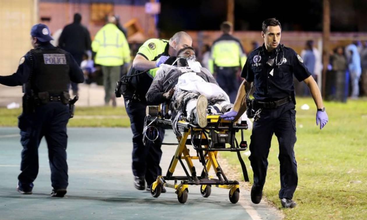 Νέα Ορλεάνη: Δεκαέξι τραυματίες από πυρά σε παιδική χαρά