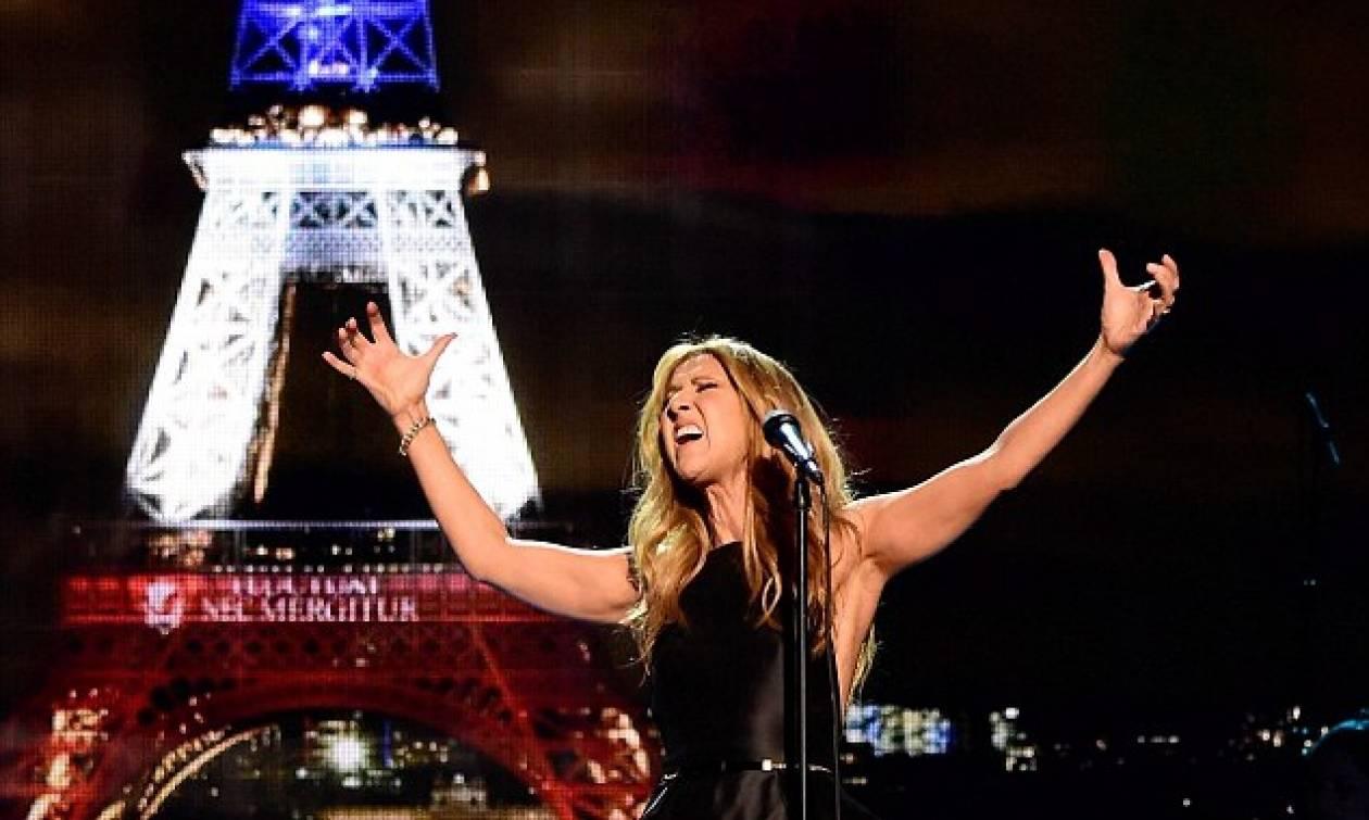 Συγκλονίζει η Celine Dion με την ερμηνεία της για τα θύματα του Παρισιού (video)