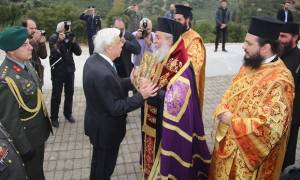 O Παυλόπουλος στην 73η επέτειο της Εθνικής Αντιστάσεως του Γοργοποτάμου (pics)
