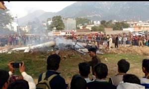 Ινδία: Επτά νεκροί από σύγκρουση ελικοπτέρου με μεγάλο πουλί! (videos)