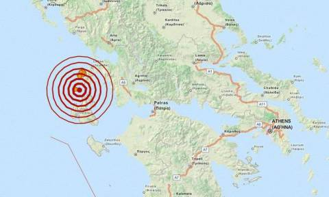 Σεισμός 3,7 Ρίχτερ μεταξύ Κεφαλονιάς και Λευκάδας