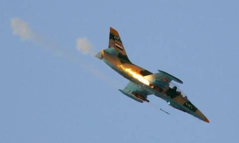 Συρία: Συντριβή μαχητικού αεροσκάφους στα σύνορα με την Τουρκία (vid)