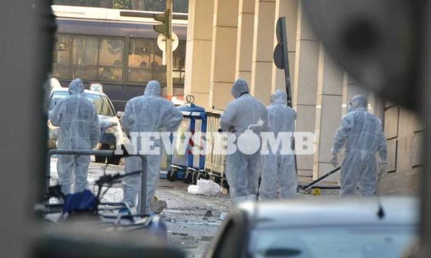 В центре Афин прогремел взрыв