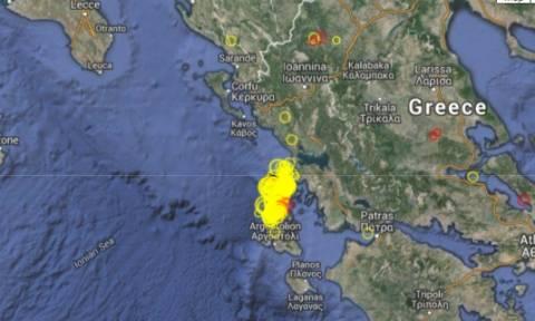 Συνεχίζεται ο τρόμος των Ρίχτερ στη Λευκάδα: Σεισμός 4,1 βαθμών