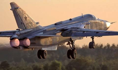 Κατάρριψη ρωσικού μαχητικού: ΔΕΙΤΕ τη στιγμή της συντριβής (vid)