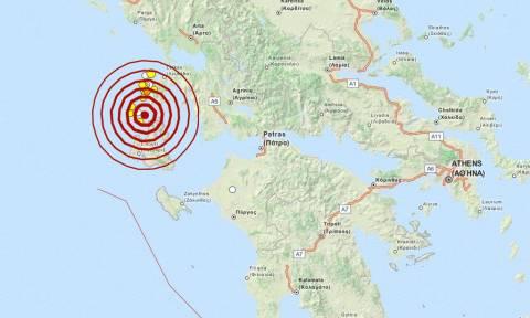 Σεισμός 4,3 Ρίχτερ μεταξύ Λευκάδας και Κεφαλονιάς