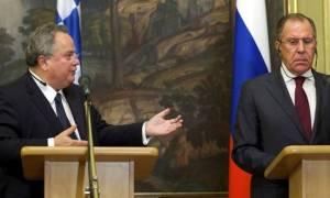 Ο Λαβρόφ θέτει θέμα τουρκικών παραβιάσεων στο Αιγαίο