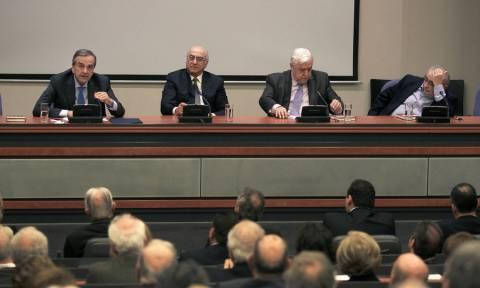 Σαμαράς προς Πλακιωτάκη: Κάνε ό,τι πρέπει να πάμε σε εκλογές με σοβαρότητα