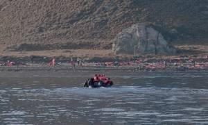 Αίσιο τέλος για τους πρόσφυγες που αναζητούσε στη θάλασσα το Λιμενικό