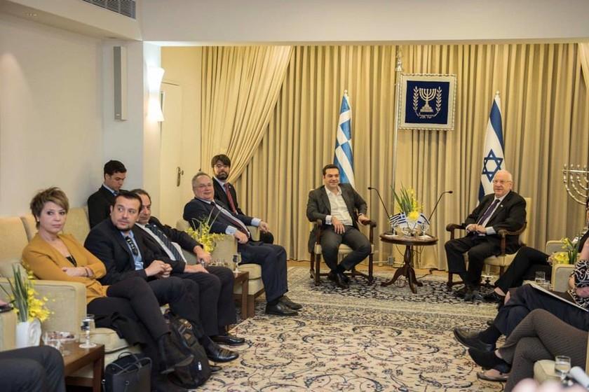 Για το ρόλο της Ελλάδας στην ευρύτερη περιοχή συζήτησαν Τσίπρας-Ρίβλιν