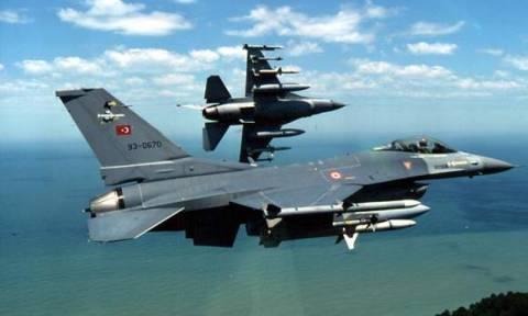 Νέες παραβιάσεις του εθνικού εναέριου χώρου από τουρκικά αεροσκάφη