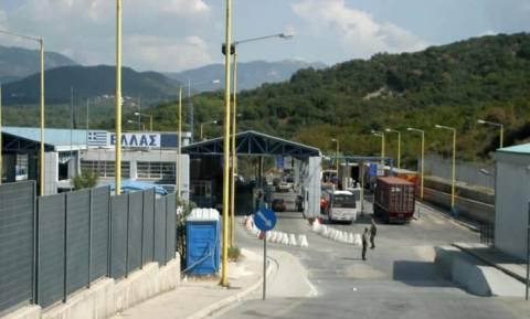 Ιωάννινα: Συνελήφθη Αλβανός στο τελωνείο Κακκαβιάς με 54 κιλά χασίς (pics)