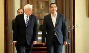 Τσίπρας: Μετέφερε στον Παυλόπουλο πρόσκληση του Προέδρου του Ισραήλ