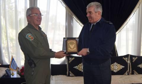 Επίσκεψη Αρχηγού ΓΕΑ στο Μαρόκο (pics)