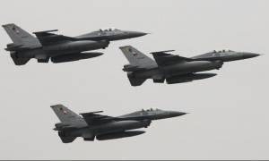 Οι Τούρκοι παραβίασαν πάνω από 2.000 τον ελληνικό εναέριο χώρο το 2014