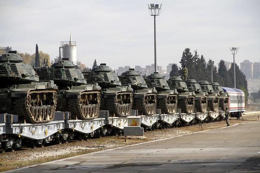 Ραγδαίες Εξελίξεις: Η Τουρκία μεταφέρει στρατό από τον Έβρο στη Συρία (pics)