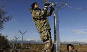 Φράχτη σηκώνουν τα Σκόπια στα σύνορα με την Ελλάδα
