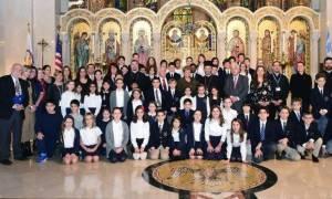 Η πρώτη Κυρία της Κύπρου στο Σχολείο του Καθεδρικού στη Νέα Υόρκη