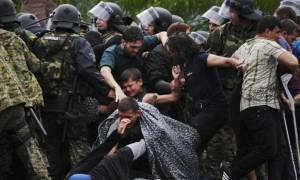 Ειδομένη: Δεκάδες τραυματίες από τα επεισόδια