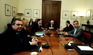 Σύσκεψη πολιτικών αρχηγών: Συμφώνησαν ότι διαφωνούν για το ασφαλιστικό