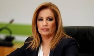 Σύσκεψη πολιτικών αρχηγών - Γεννηματά: Δεν υπάρχει περίπτωση να ψηφίσουμε μείωση των συντάξεων