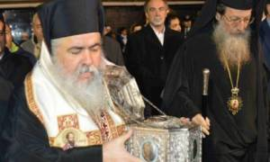 Υποδοχή της Τιμίας Κάρας του Αγίου Ραφαήλ στον Εύοσμο Θεσσαλονίκης