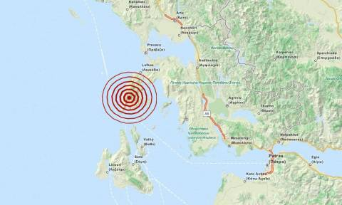 Σεισμός 3,2 Ρίχτερ στη Λευκάδα (pics)
