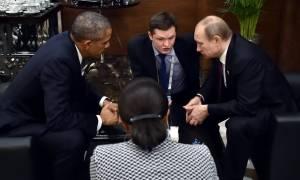Παγκόσμια Διάσκεψη για το Κλίμα: Συνάντηση Πούτιν – Ομπάμα στο Παρίσι