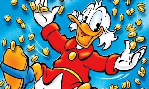 Σαν σήμερα το 1947 εμφανίζεται για πρώτη φορά σε κόμικ ο Σκρουτζ Μακ Ντακ