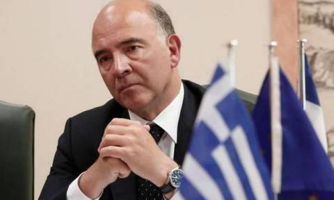 Μοσκοβισί: Πρώτα μεταρρυθμίσεις και μετά συζήτηση για το χρέος