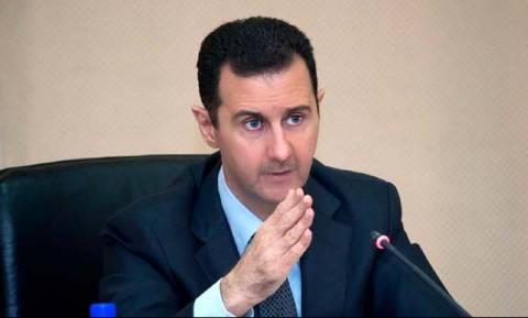 Άσαντ: Η Τουρκία έδειξε τις προθέσεις της με την κατάρριψη του ρωσικού μαχητικού