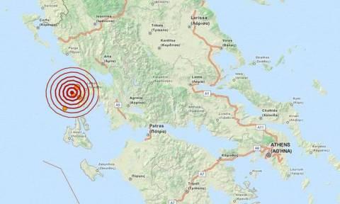 Σεισμός 3,7 Ρίχτερ δυτικά της Λευκάδας