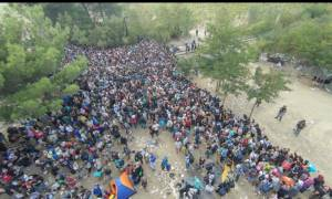 Βίντεο-ντοκουμέντο: Η μεταφορά των προσφύγων από την Ειδομένη στην Αθήνα