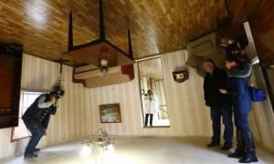 Το... αναποδογυρισμένο σπίτι της Λευκορωσίας (photo)