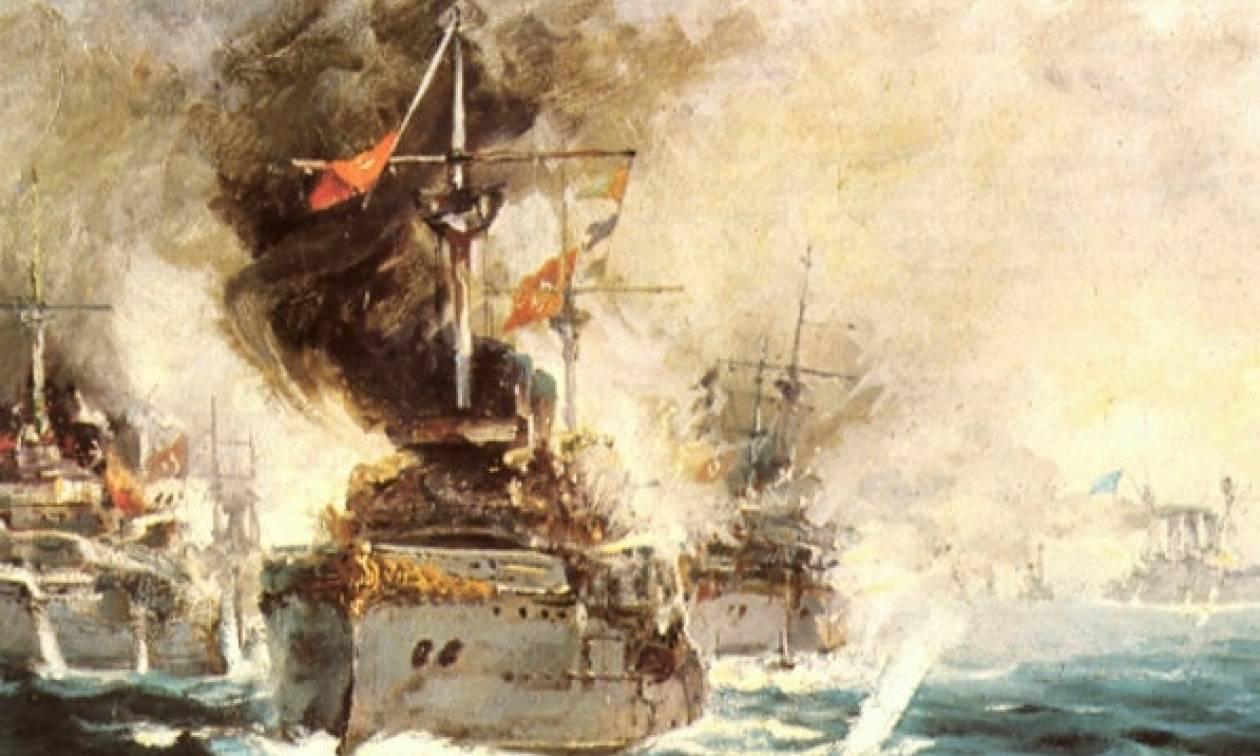 Σαν σήμερα το 1912 πραγματοποιήθηκε η Ναυμαχία της Έλλης