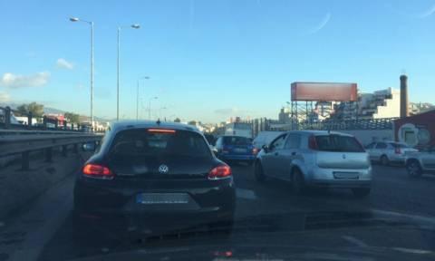 Κυκλοφοριακό έμφραγμα στους δρόμους το πρωί της Πέμπτης