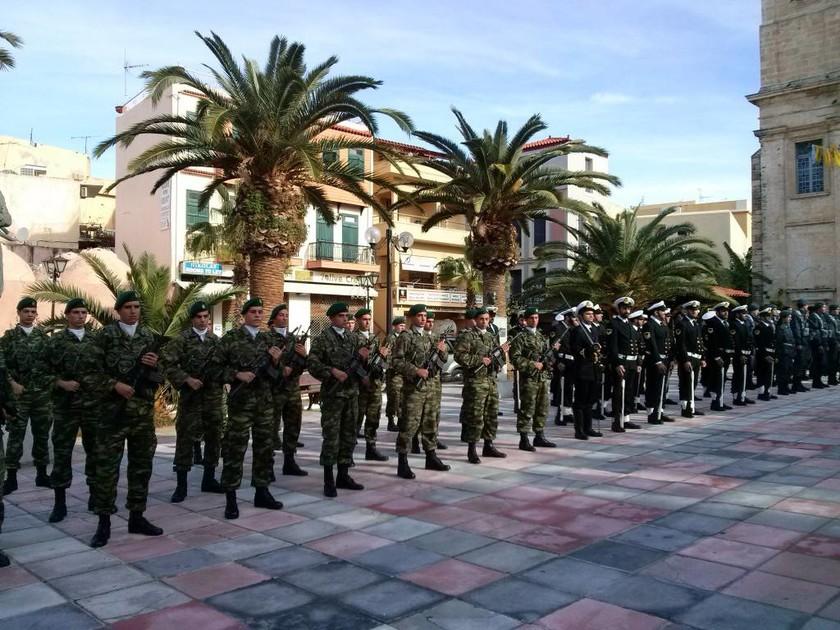 Παρουσία του Α/ΓΕΕΘΑ & με πτήσεις F-16 ο Εορτασμός της Ένωσης της Κρήτης με την Ελλάδα (pics)