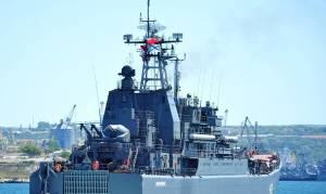 Τουρκικά ΜΜΕ: Ρωσικό αποβατικό πέρασε τον Βόσπορο χωρίς να αναρτήσει την τουρκική σημαία